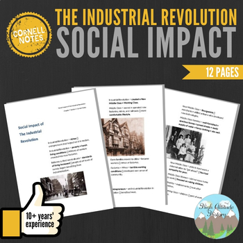 Cornell Notes (Social Impact of the Industrial Revolution)