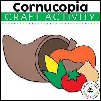 Cornucopia Cut and Paste