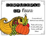 Cornucopia of Nouns- Concrete and Abstract Noun Sorting Ma