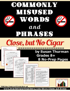 Writing Fun: Correcting Commonly Misused Words & Phrases (