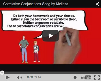 Correlative Conjunctions Video & Activities Bundle