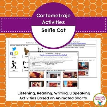 Cortometraje Activities:  Selfie Cat