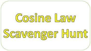 Cosine Law Scavenger Hunt