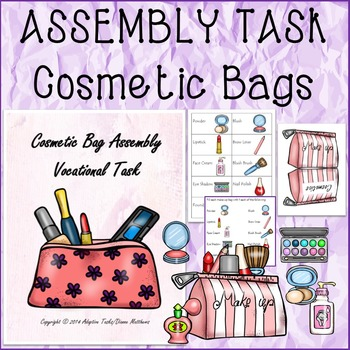 ASSEMBLY TASK Cosmetic Bags