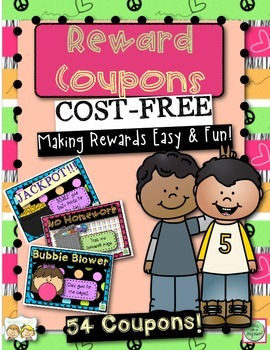 54 Cost-Free Reward Coupons!