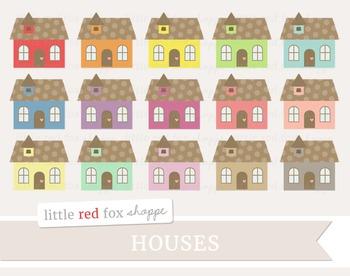 Cottage Clipart; House