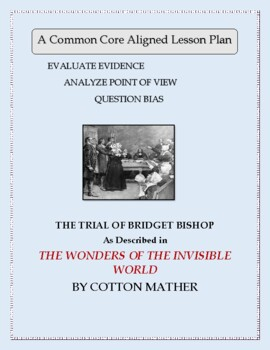 Cotton Mather's Account of the Salem Witchcraft Trials:  A