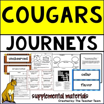 Cougars Journeys Fifth Grade Supplemental Materials