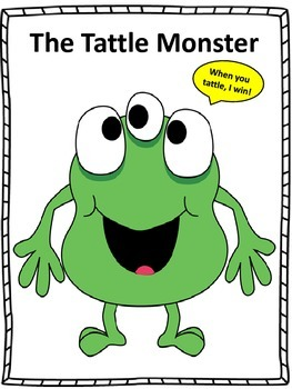 """Counseling and Guidance, """"The Tattle Monster"""""""
