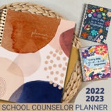 Counselor & Specialists Planner & Forms Jan - Dec and Aug