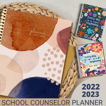 Counselor & Specialists Planner & Forms Editable Bundle