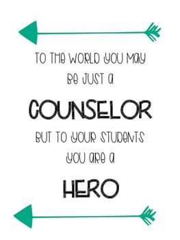 Counselor Printable