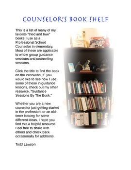 Counselor's Book Shelf