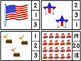 Count And Clip 1-20 America