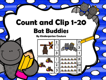 Count And Clip -Bat Buddies