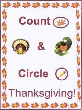 Count & Circle Thanksgiving