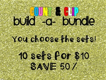Count & Clip Build -A- Bundle