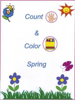"""Count & Color Spring!"""