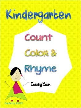 Count, Color and Rhyme Coloring Book