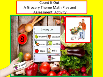 Count It Out: A Grocery Theme Math Activity and Assessment