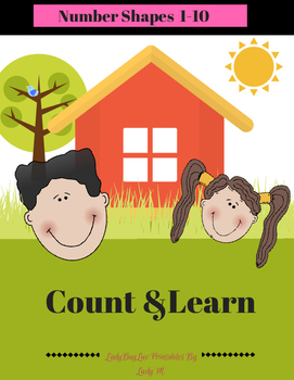 Count & Learn -Number Shapes 1-10