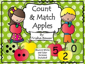 Count & Match Apples