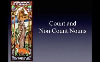 Count/Non-count & a,an & the