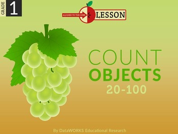 Count Objects from 20 to 100