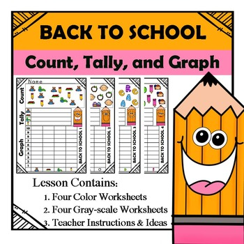 Count Tally Graph - Back to School