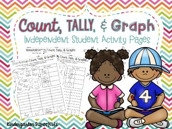 Count, Tally, & Graph!  {Just print and play!}