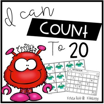 Count To 20 -  Numbers - Counting - Games - Activity - Pri