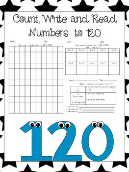 Counting by ones to 120