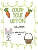 Count Your Carrots - Math Activities