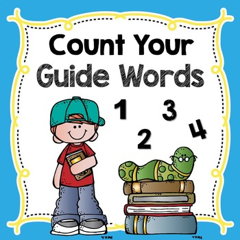 Count Your Guide Words-NO PREP Printable!