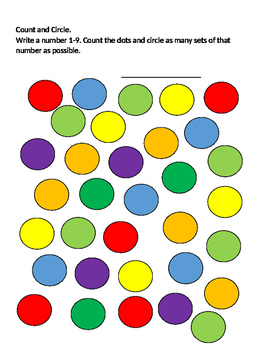 Count and Circle