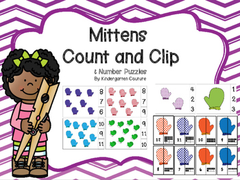 Count and Clip - Mitten