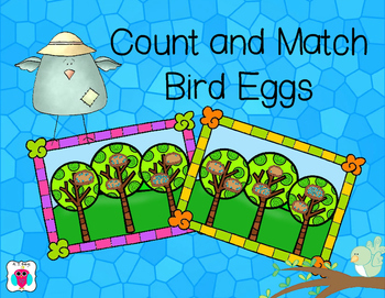 Count and Match Bird Eggs 0-20