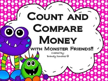 Count and Compare Money with Monsters!