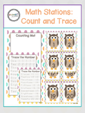 Math Stations: Count and Trace Cards