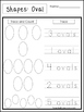 Count and Trace the Shapes Worksheets. 12 Shapes Worksheet