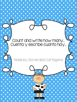 Count and Write how many (Ten Frame)