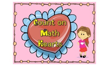 Count on with Valentine Hearts
