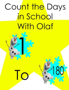 Frozen Themed: Count the Days in School with Olaf
