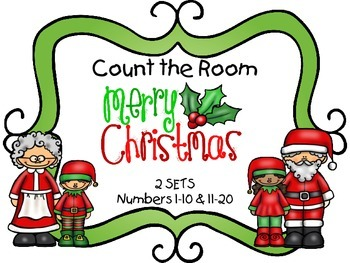 Count the Room - Christmas {K.CC.A.3 & K.NBT.A.1}