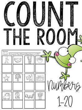 Count the Room Scavenger Hunt Activity