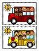 Math Center: Count the Room + Count On {SCHOOL BUS BUNDLE}