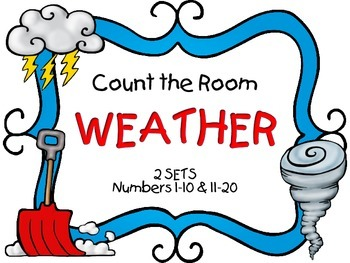 Count the Room - Weather {K.CC.A.3 & K.NBT.A.1}