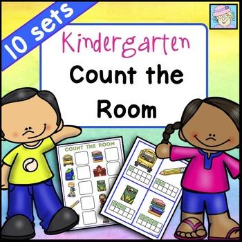 Count the Room for Kindergarten