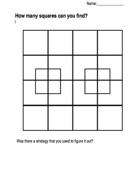 Count the squares!
