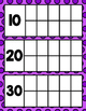 Count the School Days-Purple with Purple Dots 180